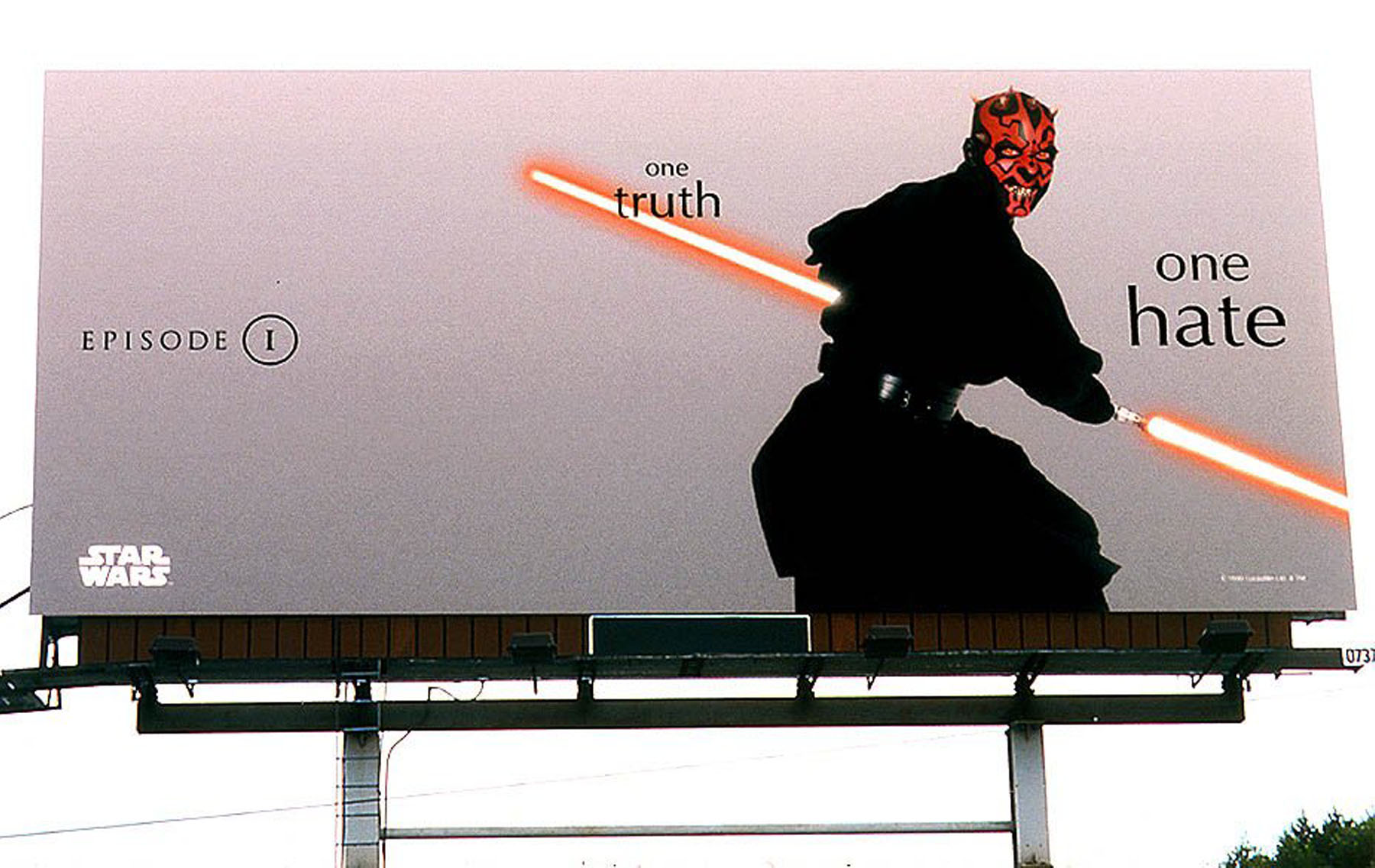 Star Wars Episode I advertising